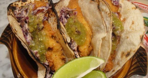 Catfish, Tacos and Chipotle on Pinterest