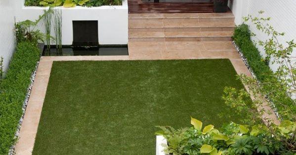 25 id es pour am nager et d corer un petit jardin petits jardins jardins et terrasses. Black Bedroom Furniture Sets. Home Design Ideas