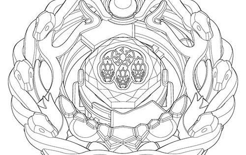 Coloriage beyblade orochi coloriage beyblade pinterest - Dessin beyblade ...
