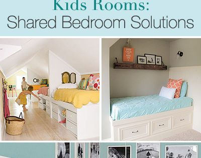 For some day. Kids Rooms: Shared Bedroom Solutions • Tips, Ideas and