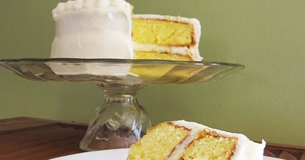 Lemonade Cake - I've made this and it is SO delicious. Best