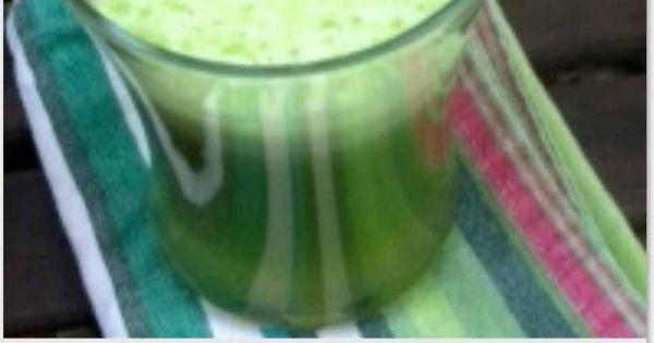 skin hydrating green juice