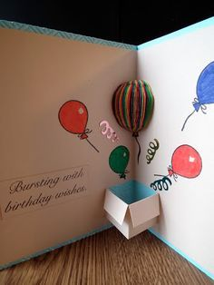 Crafty Card Tricks Special Birthday Delivery Birthday Cards Diy Handmade Birthday Cards Homemade Cards