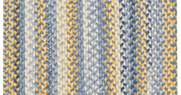 Capel Prairie Prairie Blue Yellow Area Rugs Rugs