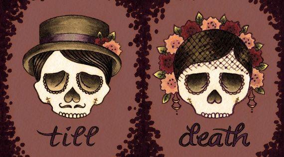 Dia de los Muertos Till Death..