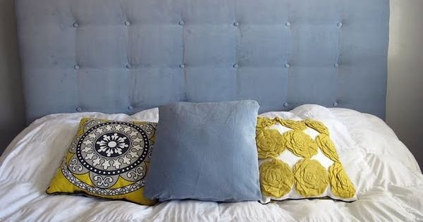 Link To How To Make Your Own Tufted Headboard Awesome