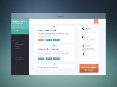 Coursera Redesign Interface Design Interactive Design Web Design