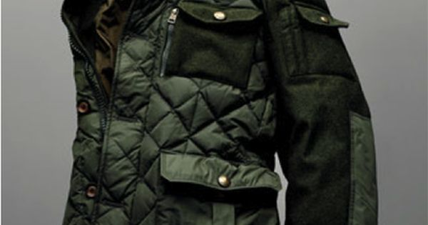 beyondfabric: Moncler x Bergdorf Goodman 111th Aniversary Rodriguez Field Jacket http://goose2014.cz.tf cheap