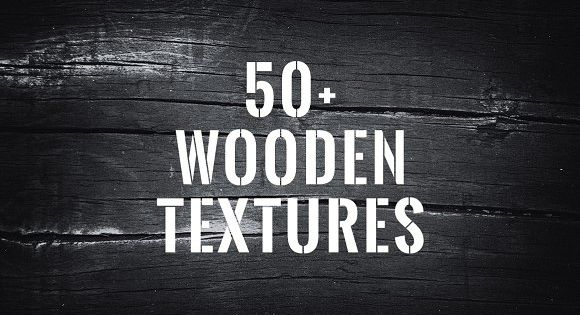 50+ Wood Textures & Backgrounds Pack from old wood on Alpine houses, logs from the forest to historic railroad tracks wood.