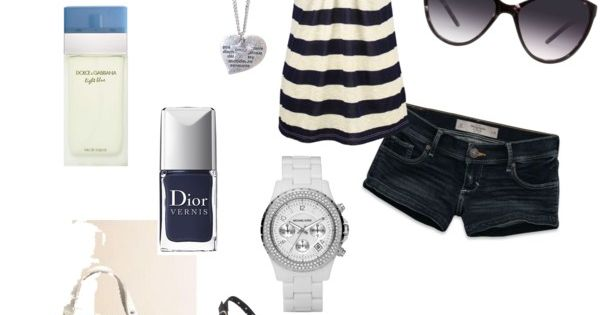 Blue, created by krystatarman on polyvore. fashion style Abercrombie & Fitch Jane