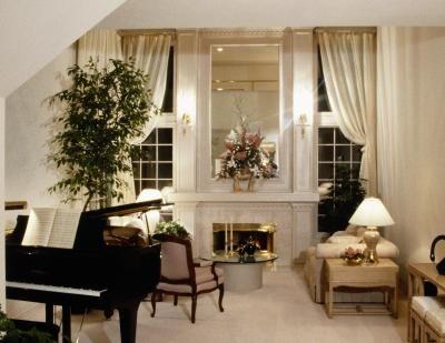 How To Arrange A Living Room With A Grand Piano Piano Room Decor Piano Living Rooms Grand Piano Room