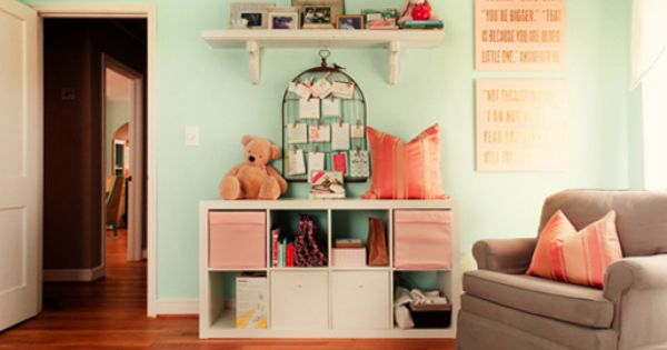 In LOVE w this little girls room, perfect for Kiele ♡ Beautiful