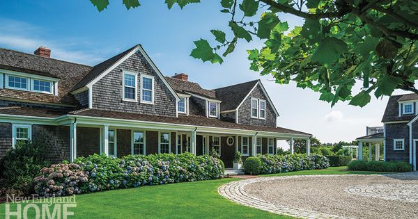 Nantucket Shingle Style Retreat Exterior Curb Appeal