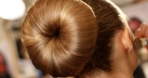 Hair Donut, love mine! For those of us who are either always