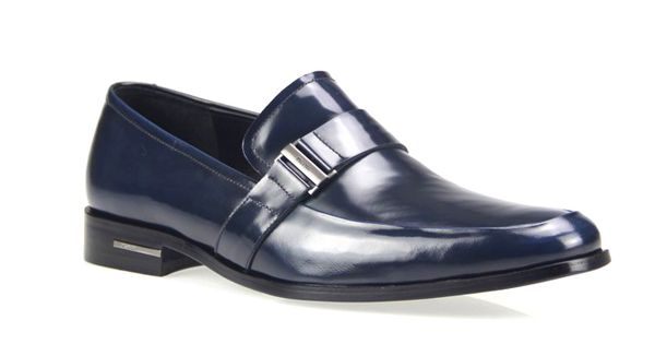 Discountdesignerclothingshop.com Prada men shoes blue Formal