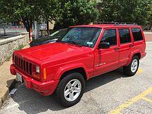 Jeep Cherokee Xj Wikipedia Jeep Cherokee Xj Jeep Cherokee Jeep