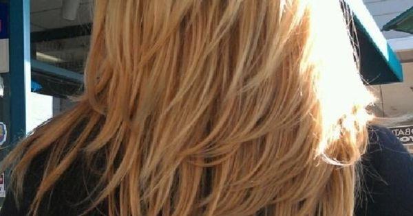 Medium Length Layered Hairstyles Back View 2015