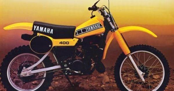 yamaha motocross bikes 1974 2013 vintage dirt. Black Bedroom Furniture Sets. Home Design Ideas