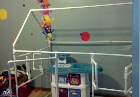 Pvc playhouses how to make awesome diy pvc playhouse for Pvc playhouse kit