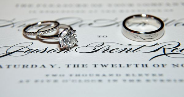 16 Inspiring Engagement and Wedding Ring Photo Shoot Ideas - MODwedding