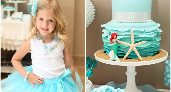 Mermaid Themed Party Ideas| http://party-ideas-collections-440.blogspot.com