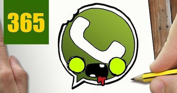 Comment Dessiner Logo Twitter Zombie Kawaii Etape Par Etape Dessins Kawaii Facile Youtube Dessin Kawaii 365 Dessin Logo 365 Dessins