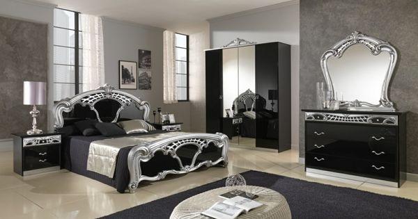 Chambre style baroque luxueuse et pleine de caract re for Commode chambre parentale