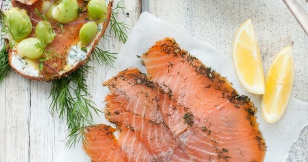Smoked salmon, Goat cheese and Salmon on Pinterest
