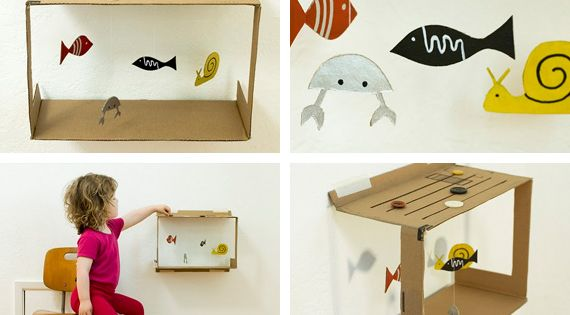 diy aquarium for kids