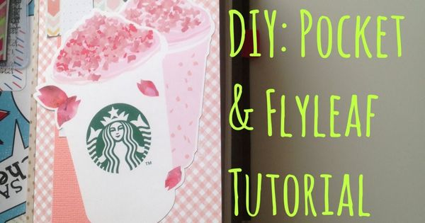 DIY Pocket + Flyleaf Tutorial for my Midori Traveler's Notebook [HD]