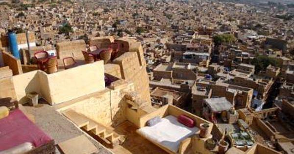 インド ジャイサルメール 城砦ホテルに泊まろう 城塞 フォート