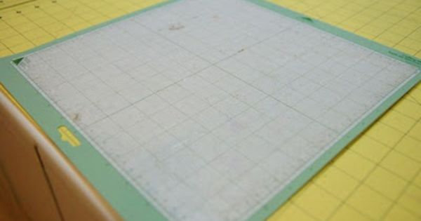 How To Make Your Cricut Mat Sticky Again You Will Need A
