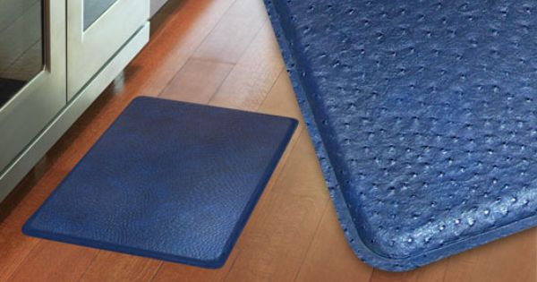 gelpro plush ostrich atlantic blue gel mats the ultimate