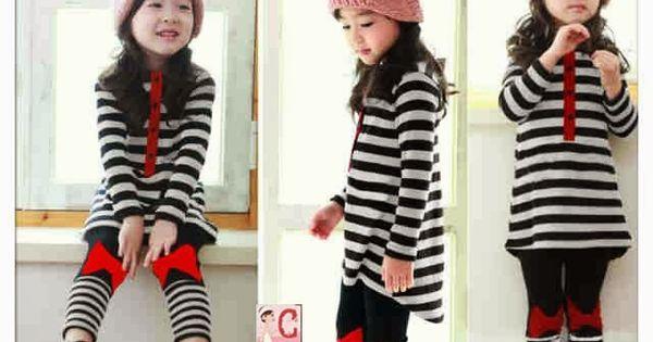 30 Model Baju Anak Korea Perempuan Branded Cute Buat