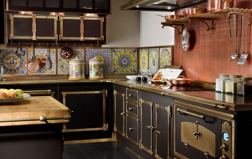 Past and future meet in steampunk decor copper for Kitchen designs steampunk