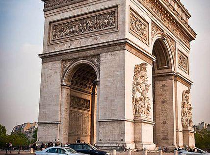 Arco del Triunfo-París, Francia.