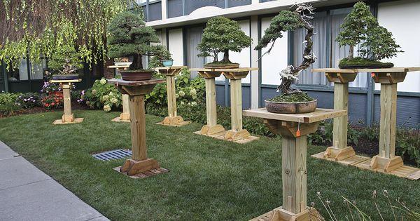 Build A Bonsai Stand Google Search Gardens Amp Good