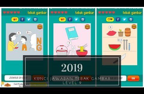 Kunci Jawaban Tebak Gambar Level 9 2019 Youtube Gambar