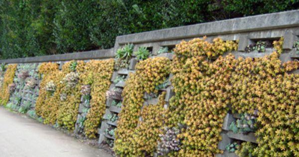 Crib Wall Planting Crib Wall Amazing Gardens Plant Wall