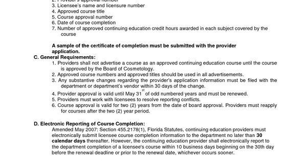 Sample resume cosmetology instructor