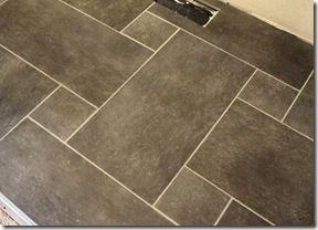 Tile Pattern Master Bath Floor 12x24 6x6 Flooring Mosaic Shower