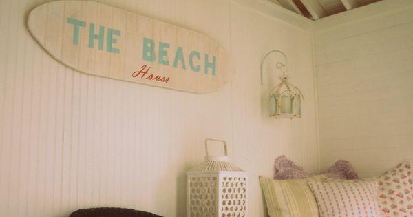 Beach house and beach room