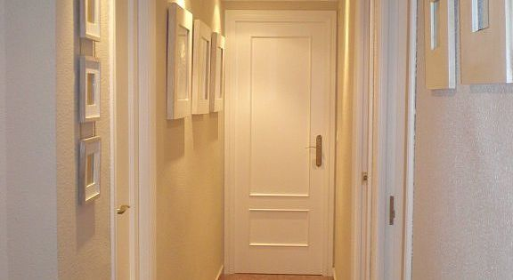 Necesito consejo como pintar pasillo porfiiiii puertas - Pintar puertas blancas ...