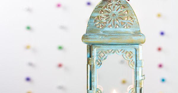 ... bougie marocain - Lanterne - Shéhérazade lanterne métallique par