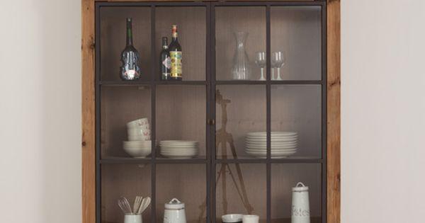 Landelijke keuken arjen vitrinekast meer modellen in onze showroom in ninove http www - Keuken modellen ...