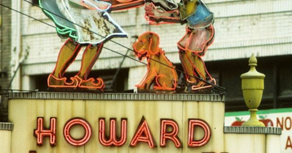 Howard Johnson vintage sign