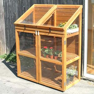 Double Mini Greenhouse Mini Greenhouse Greenhouse Plans Backyard Greenhouse