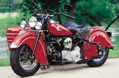 1946 Indian Chief Indian Motorcycle Indian Motorbike Motorcycle