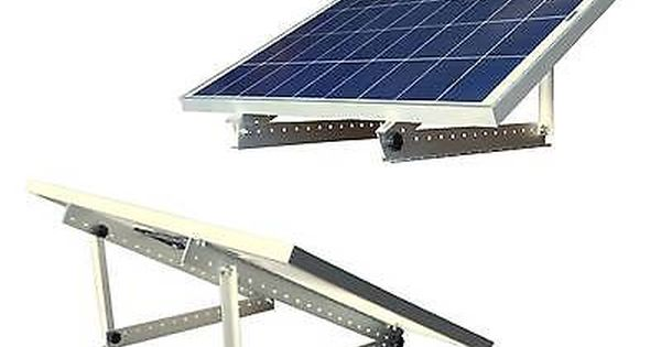 100 400 Watt 100w 12v Portable Solar Panel With Adjustable Mount Rack Rv Boat Ebay Solar Panels Solar Solar Energy Panels