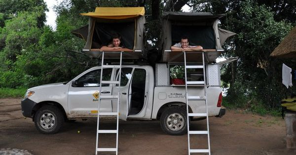 Camping With The Toyota Hilux 4x4 Double Cab Hilux 4x4 Toyota Hilux Pickup Trucks Camping